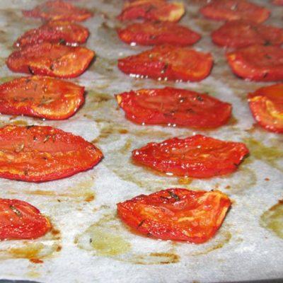 Вяленые помидоры - рецепт с фото