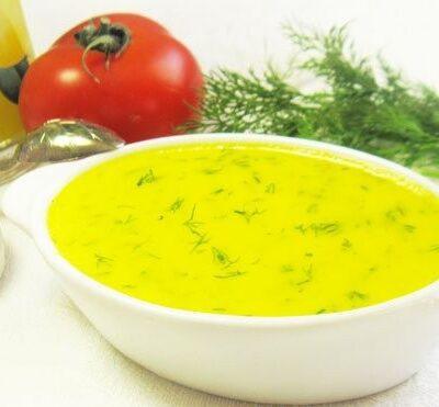 Чесночный соус с болгарским перцем - рецепт с фото