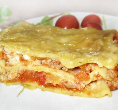 Лазанья - рецепт с фото