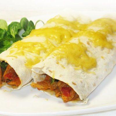 Буррито с мясом и авокадо - рецепт с фото
