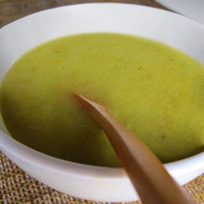 Овощной суп пюре с брокколи и цветной капустой - рецепт с фото
