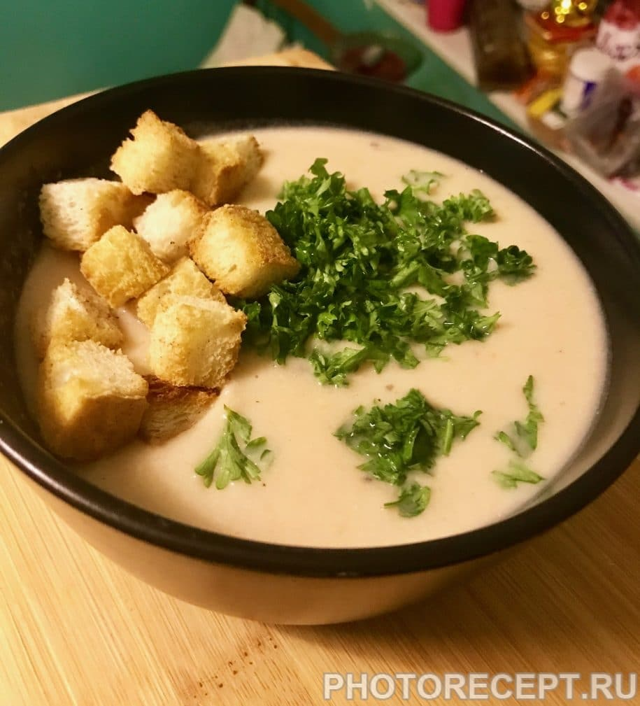 Фото рецепта - Картофельный крем-суп - шаг 9
