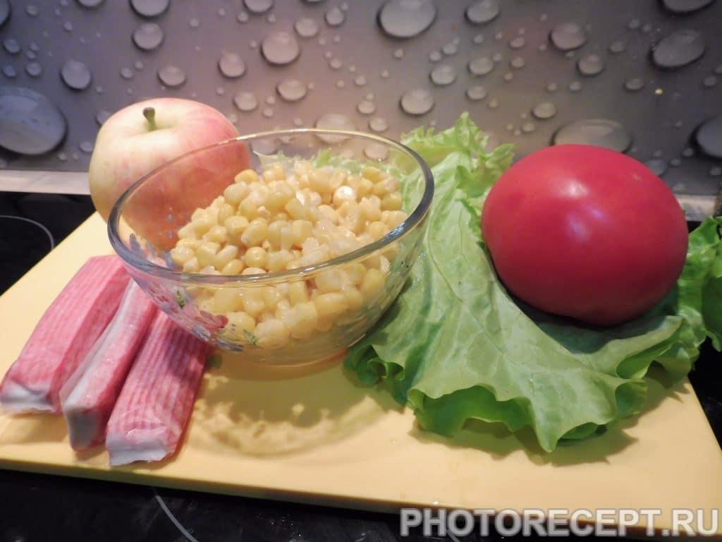 Фото рецепта - Рисовый салат с кукурузой - шаг 1