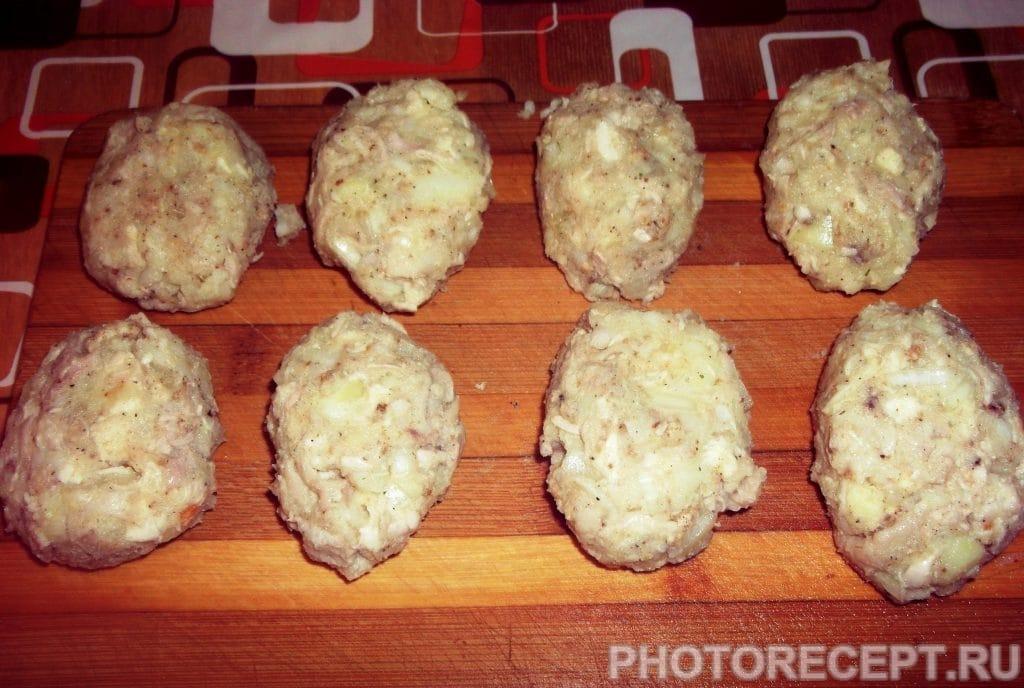 Фото рецепта - Хрустящие куриные котлетки - шаг 10