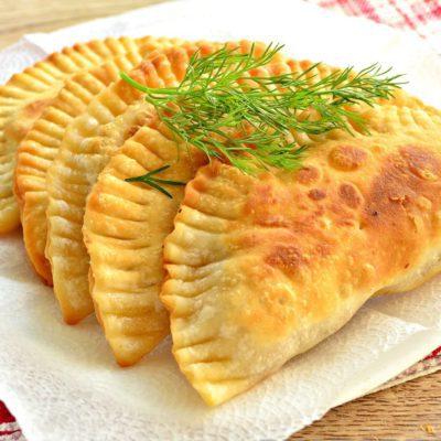 Чебуреки с куриным фаршем - рецепт с фото