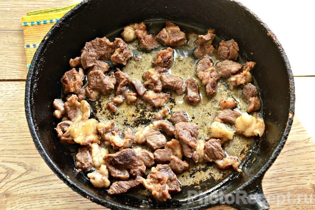 Фото рецепта - Овощное рагу с бараниной - шаг 2