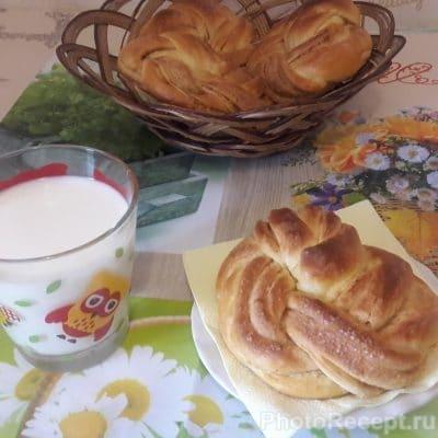 Фото рецепта - Вкуснейшие булочки с корицей - шаг 9