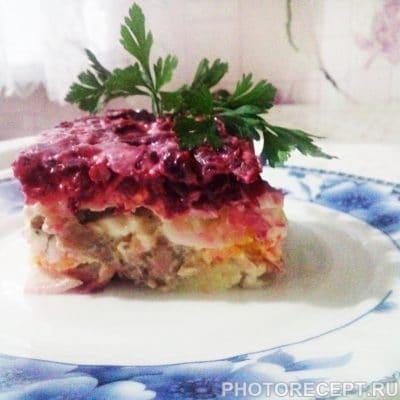 Традиционная Селедка под шубой семейный рецепт - рецепт с фото