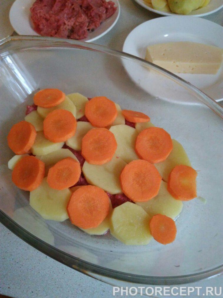 Фото рецепта - Картофельная запеканка с фаршем - шаг 4