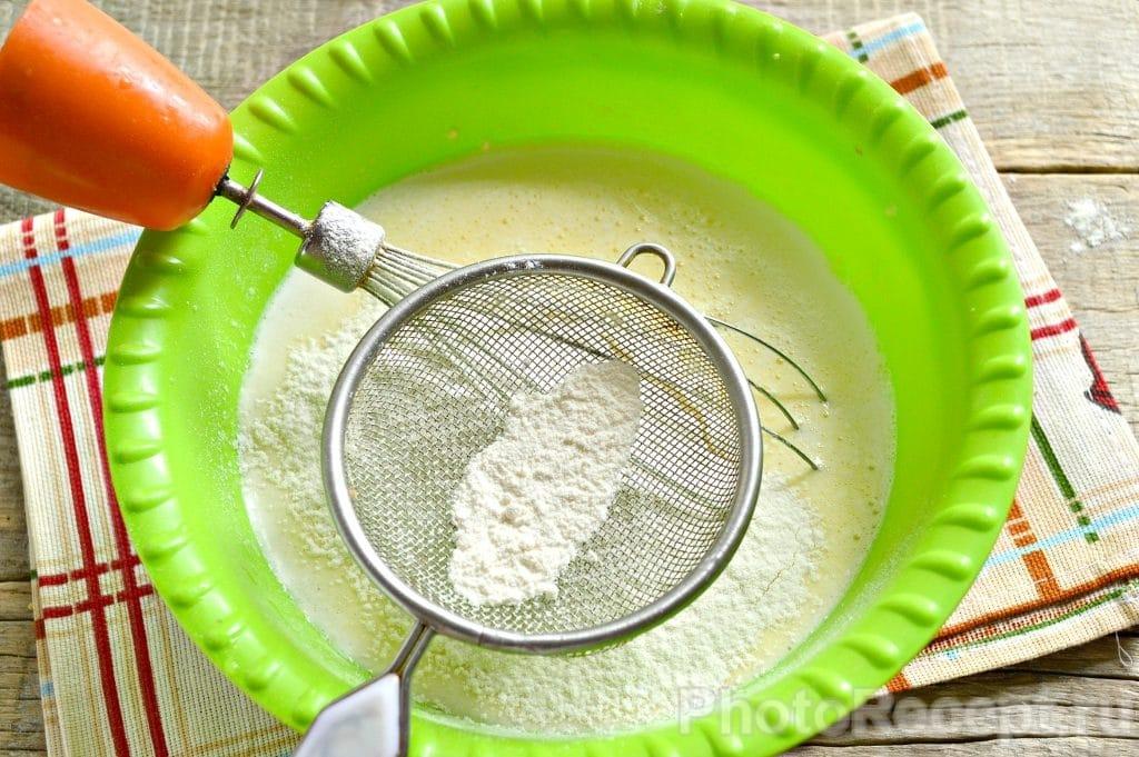 Фото рецепта - Блины на майонезе и куриных яйцах - шаг 5