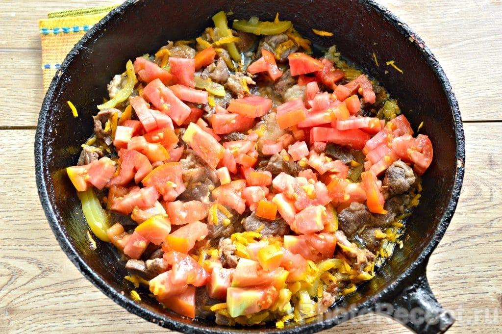 Фото рецепта - Овощное рагу с бараниной - шаг 5