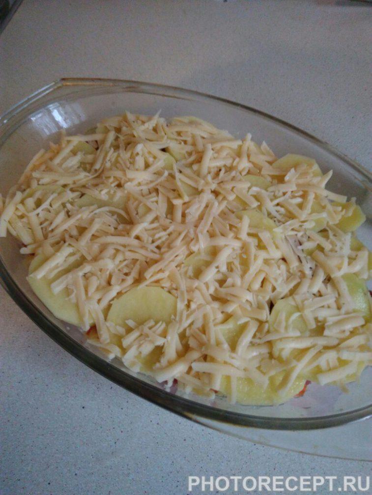 Фото рецепта - Картофельная запеканка с фаршем - шаг 5