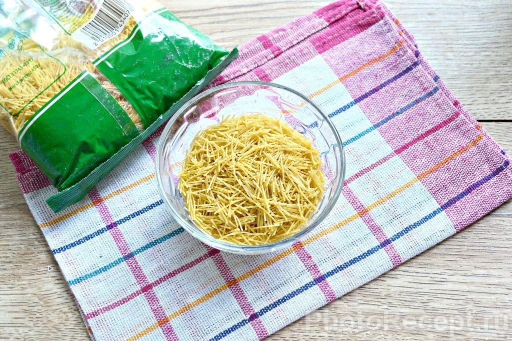 Фото рецепта - Куриный суп с вермишелью - шаг 6