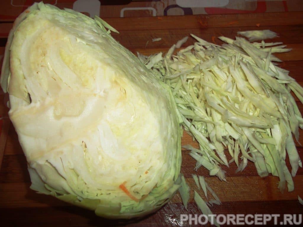 Фото рецепта - Классический борщ с фасолью - шаг 6