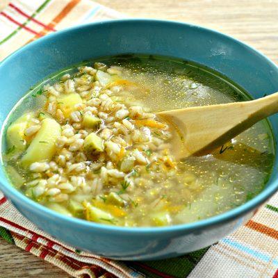 Рассольник на мясном бульоне с солеными огурцами - рецепт с фото