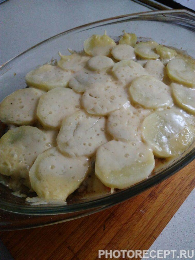 Фото рецепта - Картофельная запеканка с фаршем - шаг 7