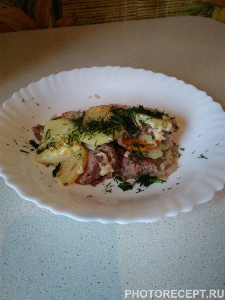Фото рецепта - Картофельная запеканка с фаршем - шаг 8