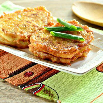 Оладьи из кабачка с рисом - рецепт с фото
