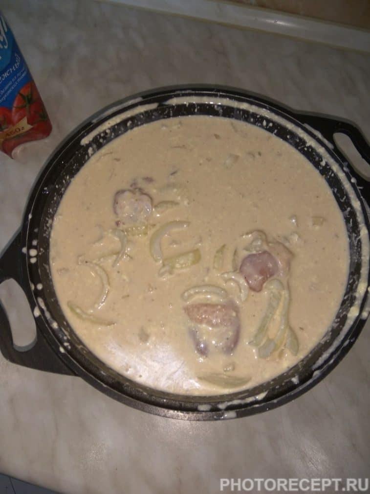 Фото рецепта - Шашлык из куриных бедер и голени - шаг 4