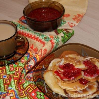 Ванильные оладьи на молоке - рецепт с фото