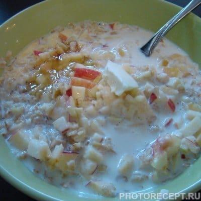 Овсяная каша с яблоками и медом - рецепт с фото
