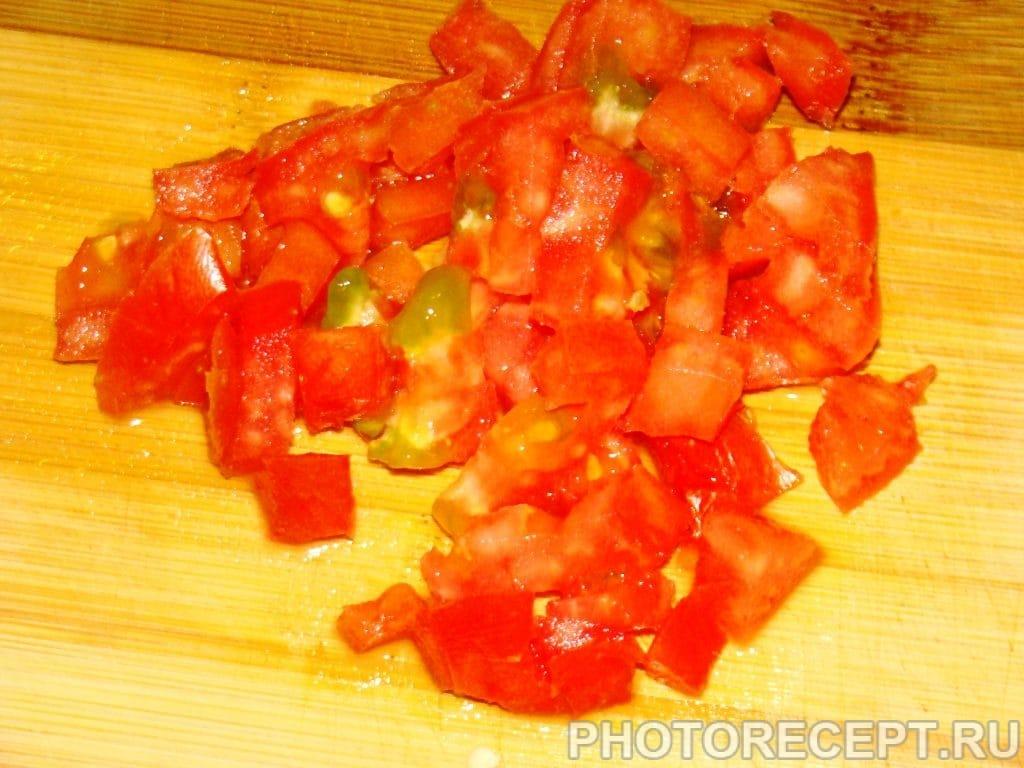 Фото рецепта - Цветной салат из кукурузы - шаг 3