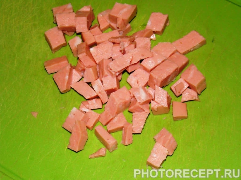 Фото рецепта - Цветной салат из кукурузы - шаг 4