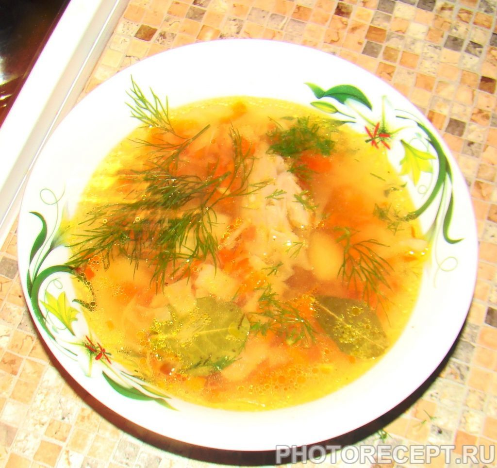 Фото рецепта - Щи с мясом утки - шаг 10