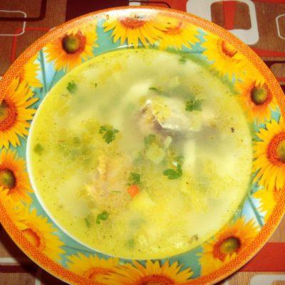 Рыбный суп из консервированной сардины - рецепт с фото