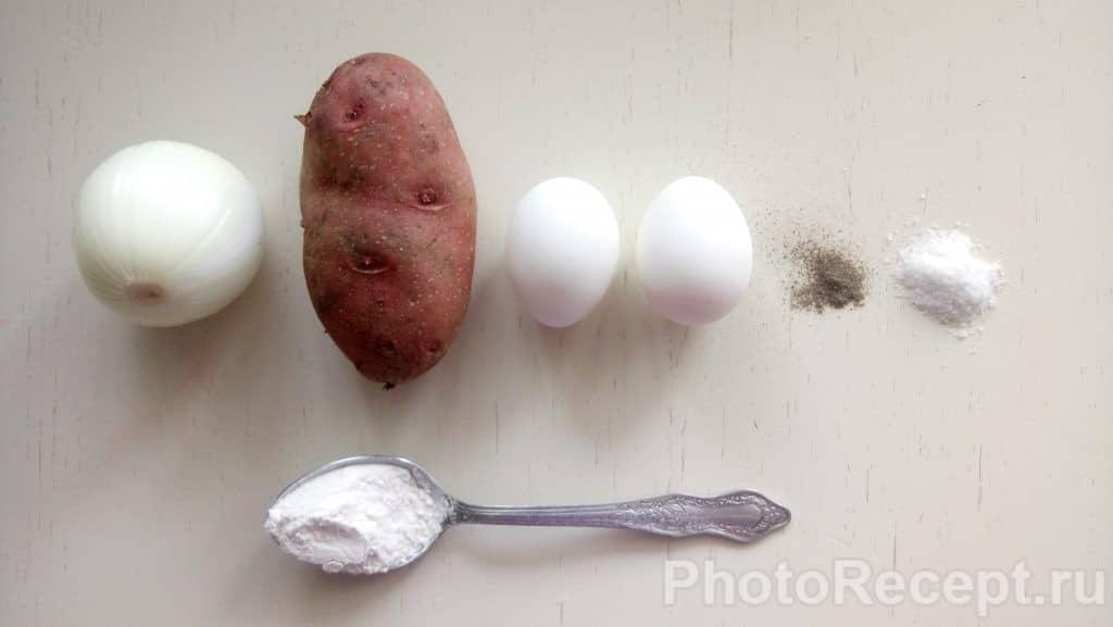 Фото рецепта - Драники картофельные - шаг 1