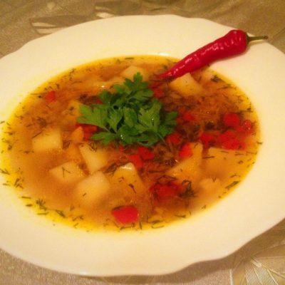 Гречневый супчик с овощами - рецепт с фото