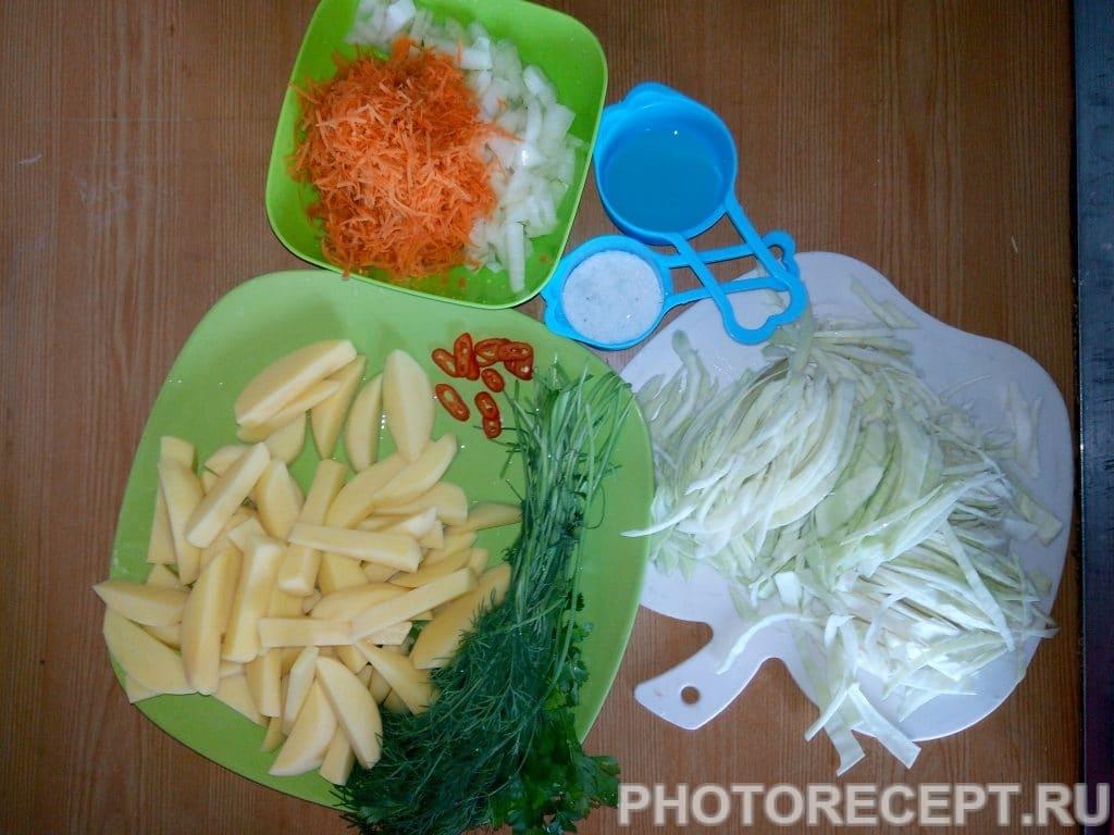 Фото рецепта - Щи из свежей капусты и курицы - шаг 3
