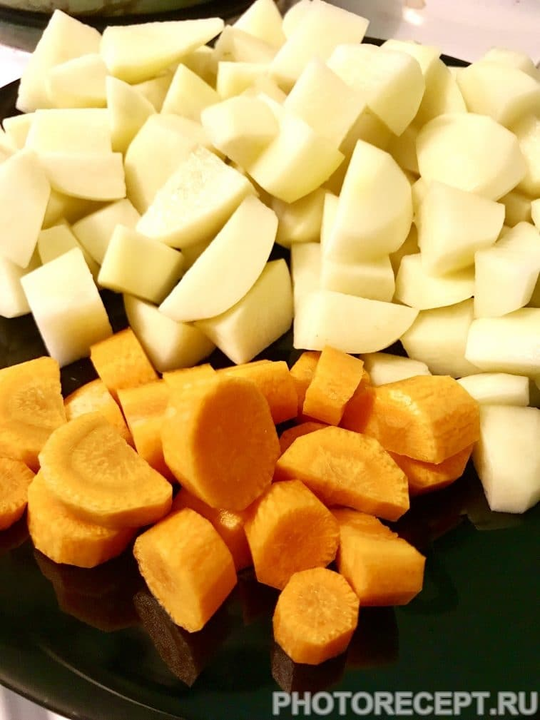 Фото рецепта - Картофельный крем-суп - шаг 3