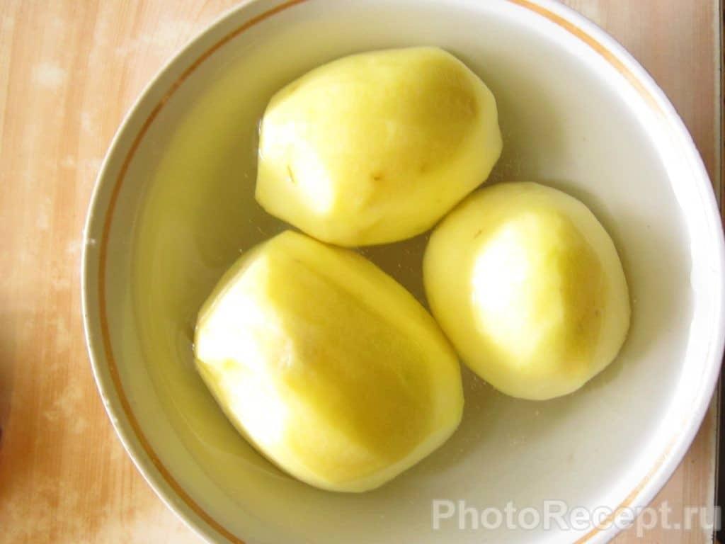 Фото рецепта - Жареная картошка с мясом - шаг 2