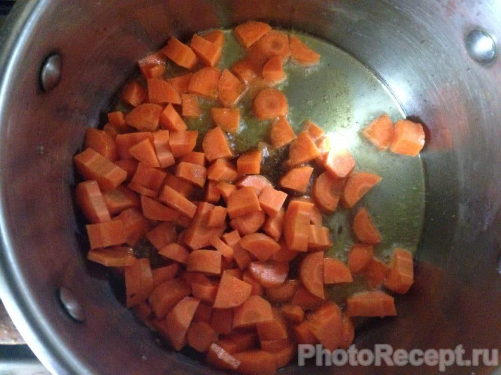 Фото рецепта - Овощное рагу с адыгейским сыром - шаг 2