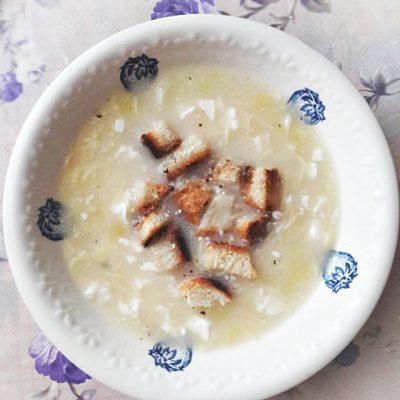 Легкий сырный супчик - рецепт с фото