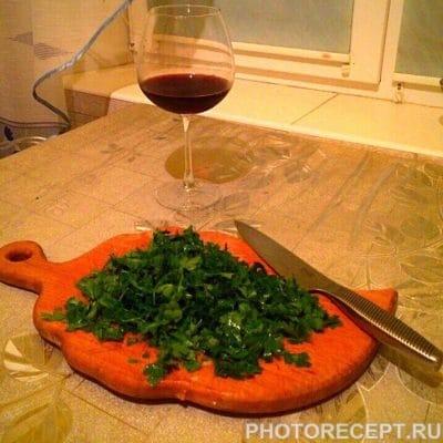 Фото рецепта - Пикантный суп харчо - шаг 5