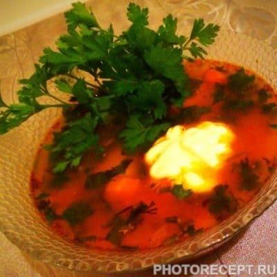 Фото рецепта - Пикантный суп харчо - шаг 15