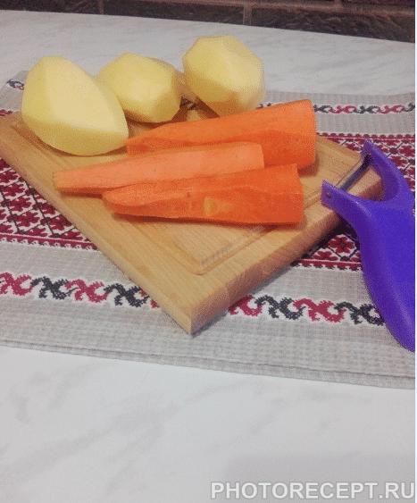 Фото рецепта - Грибной суп-пюре с мясными фрикадельками - шаг 1