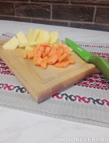 Фото рецепта - Грибной суп-пюре с мясными фрикадельками - шаг 2