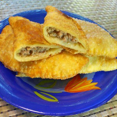 Чебуреки с мясом - рецепт с фото