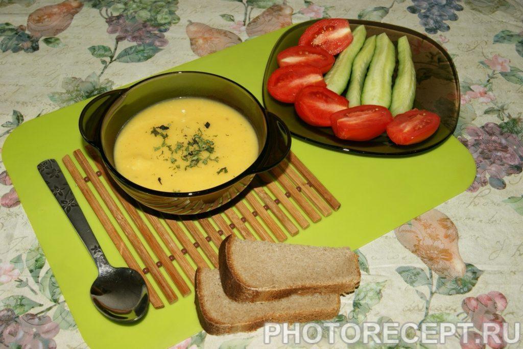 Фото рецепта - Суп-пюре - шаг 7