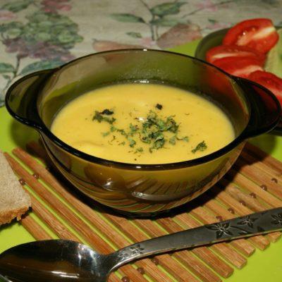Суп-пюре - рецепт с фото
