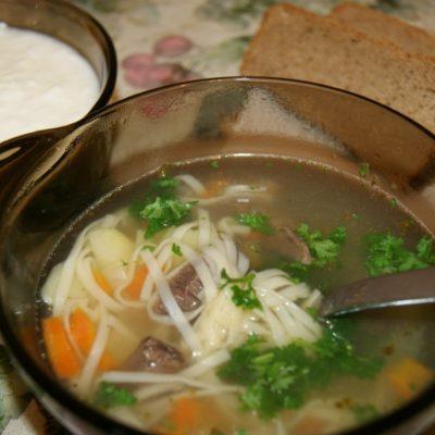 Суп лапша - рецепт с фото
