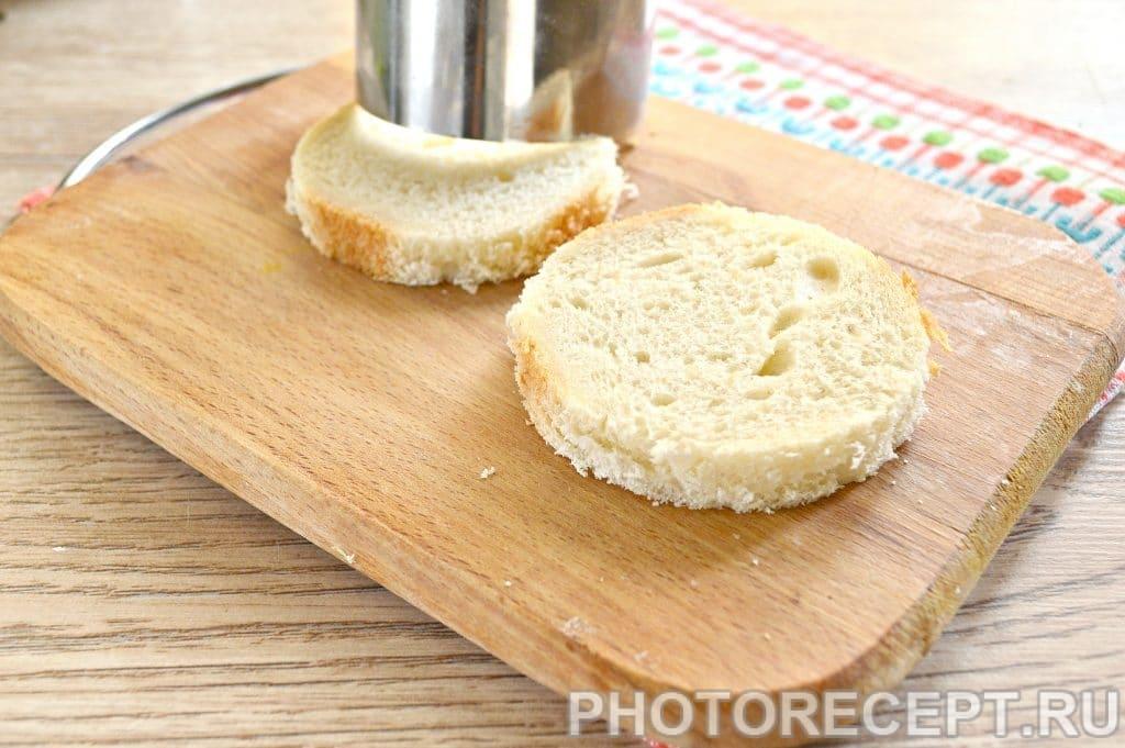 Фото рецепта - Праздничные бутерброды с копченой курицей - шаг 1