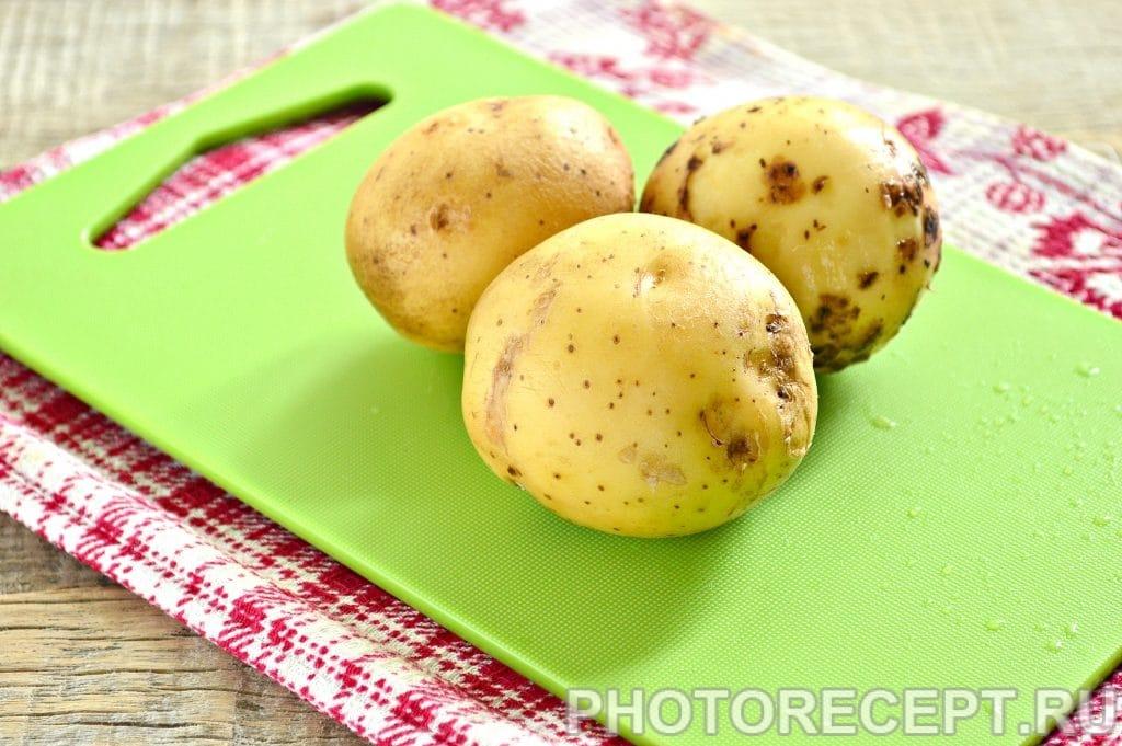 Фото рецепта - Картофель по-деревенски со специями - шаг 1