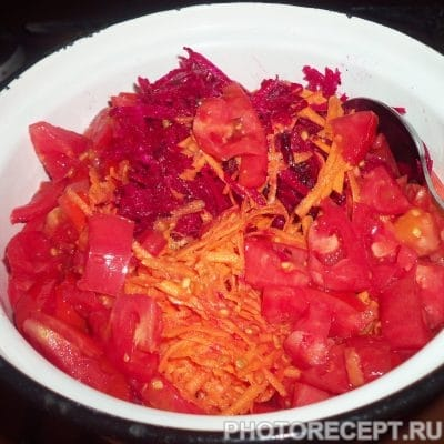 Фото рецепта - Свекольник на зиму – все витамины в одной банке - шаг 4
