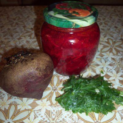 Свекольник на зиму – все витамины в одной банке - рецепт с фото