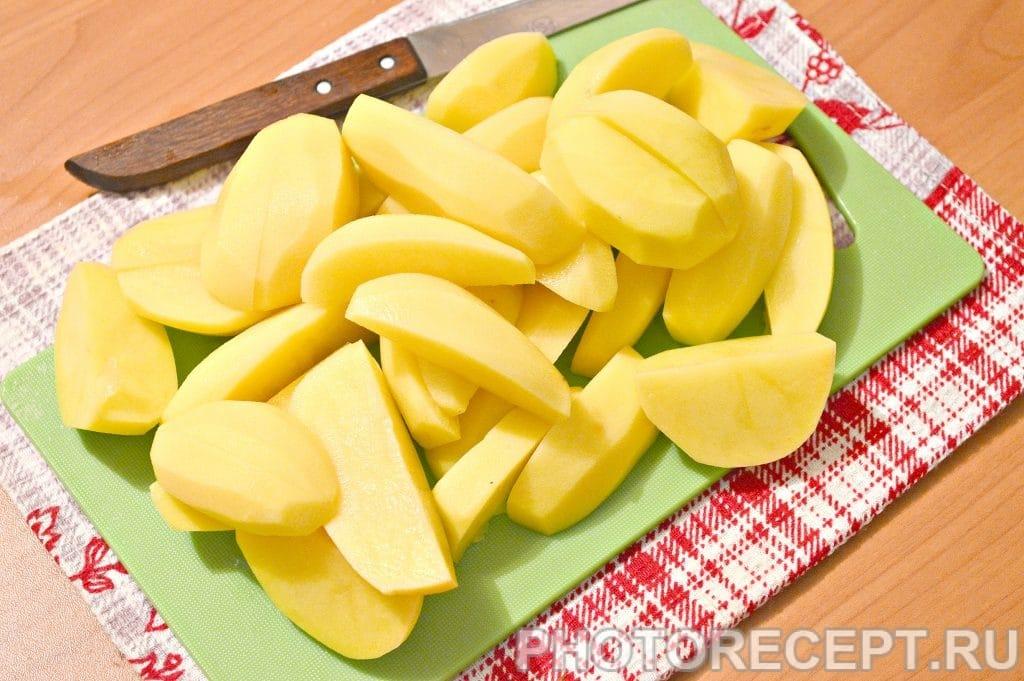Фото рецепта - Картофельный суп с фрикадельками - шаг 2