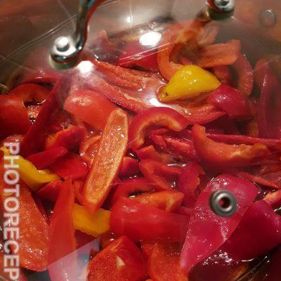 Фото рецепта - Маринованный перец на зиму - шаг 4